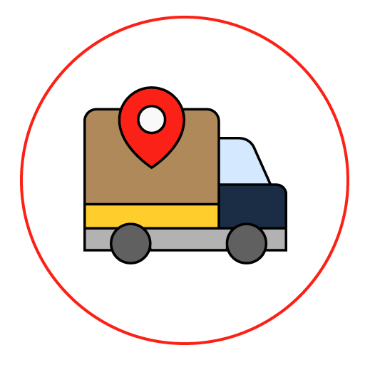 Camión geolocalizado
